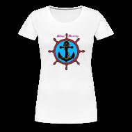 Tee shirts ~ T-shirt Premium Femme ~ TS FEMME ANCRE MARINE BLUE BERRY