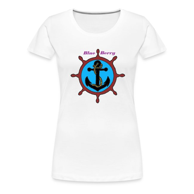 TS FEMME ANCRE MARINE BLUE BERRY