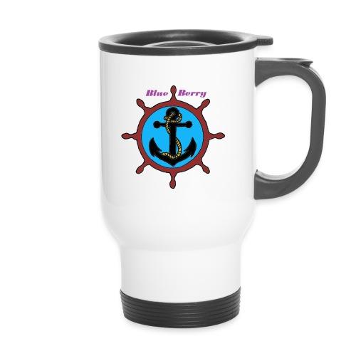 MUG THERMOS ANCRE MARINE BLUE BERRY - Mug thermos