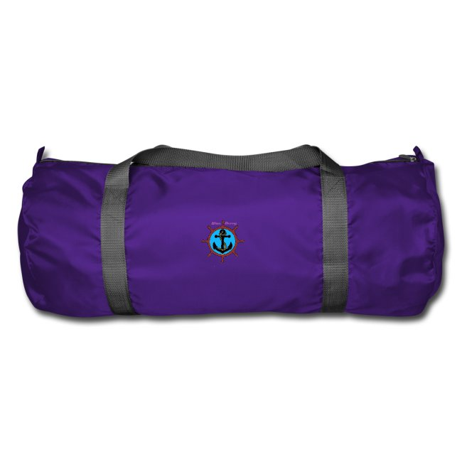 SAC DE SPORT GRAND  ANCRE MARINE BLUE BERRY