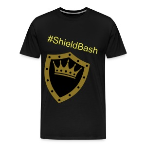 Mens #ShieldBash t-shirt - Men's Premium T-Shirt