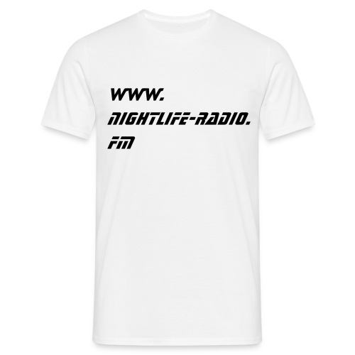 NL-IS U´re....-white - Männer T-Shirt