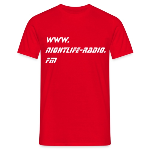 NL-IS U´re....-red - Männer T-Shirt