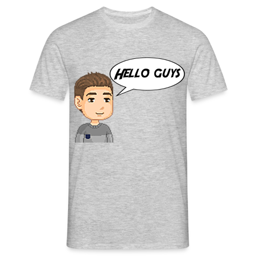 T-shirt Homme - Hello guys - T-shirt Homme
