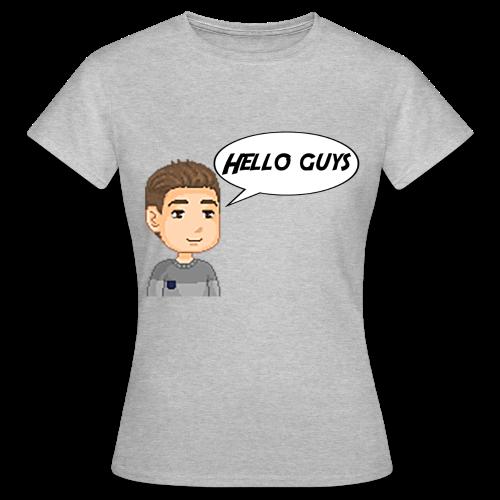 T-shirt Femme - Hello guys - T-shirt Femme