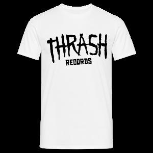 Thrash Records - White - Homme - T-shirt Homme
