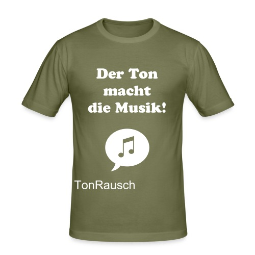 Original TonRausch T-Shirt - Männer Slim Fit T-Shirt