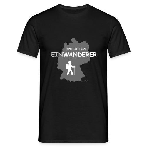 Auch ich bin EinWanderer (Men) - Männer T-Shirt