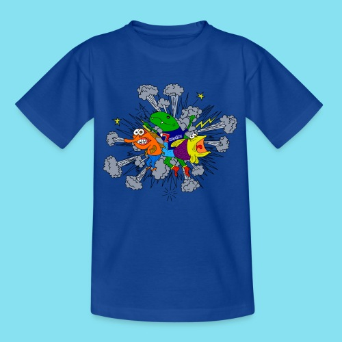 T-Shirt, FischKnieGedöns, Kinder - Kinder T-Shirt