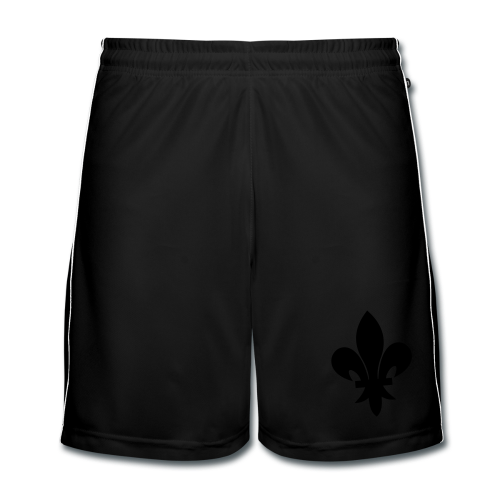 Short Ljiljan Black - Men's Football shorts