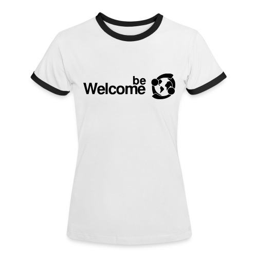 Women's BeWelcome T-Shirt - Women's Ringer T-Shirt