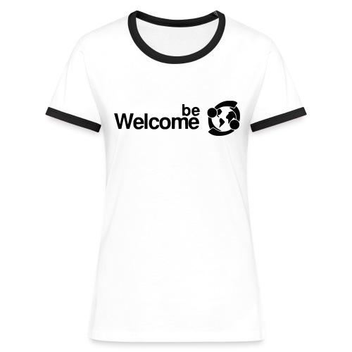 Women's BeWelcome T-Shirt - Women's Ringer T-Shirt
