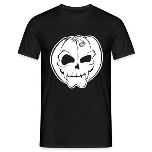 Skull Black - Männer T-Shirt