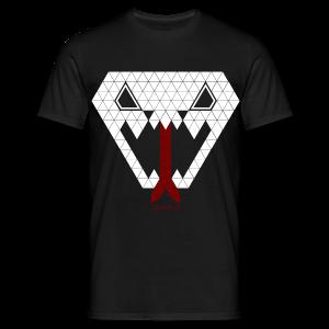 Tripple Triangle Snake - Mannen T-shirt
