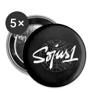 `Søjus1´ Button (5x) - Buttons small 25 mm
