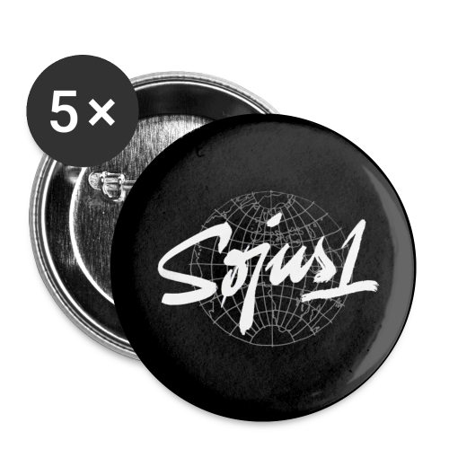 `Søjus1´ Button (5x) - Buttons small 1''/25 mm (5-pack)