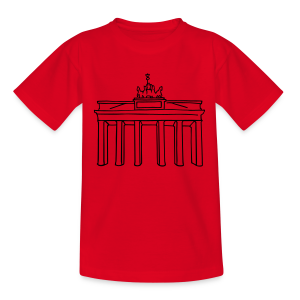 Berlin, Brandenburger Tor - Kinder T-Shirt