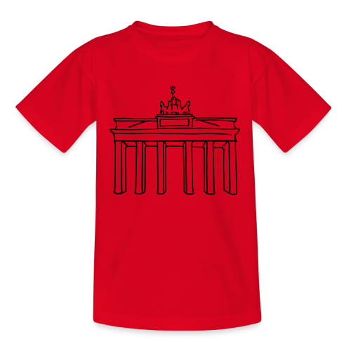 Berlin, Brandenburger Tor - Kinder T-Shirt