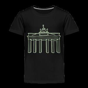 Berlin, Brandenburger Tor - Kinder Premium T-Shirt