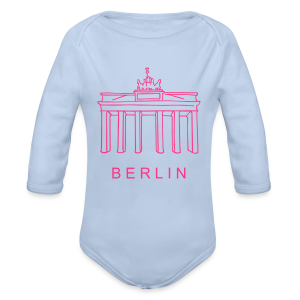 Berlin, Brandenburger Tor - Baby Bio-Langarm-Body