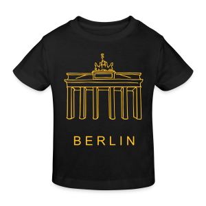 Berlin, Brandenburger Tor - Kinder Bio-T-Shirt
