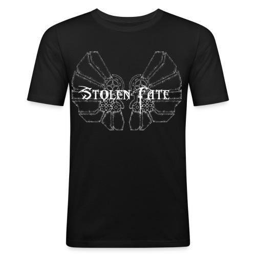 Stolen Fate FrostWings - Männer Slim Fit T-Shirt