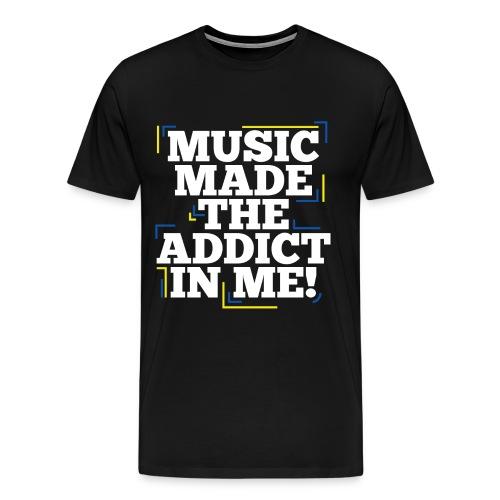TF-Global | Music Made Addict - Men's Premium T-Shirt