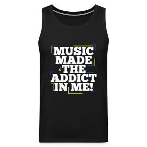 TF-Global | Music Made Addict - Men's Premium Tank Top
