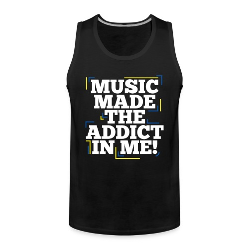 TF-Global | Music Made Addict - Men's Premium Tank Top