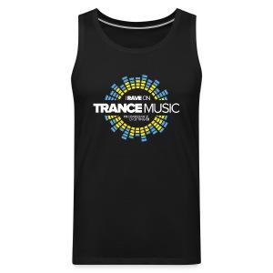 TF-Global | I rave on trancemusic - Men's Premium Tank Top