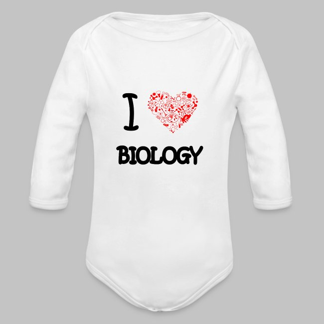 Body bébé (baby) I love biology