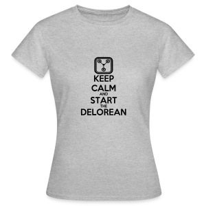 T-Shirt F Start Delorean - T-shirt Femme