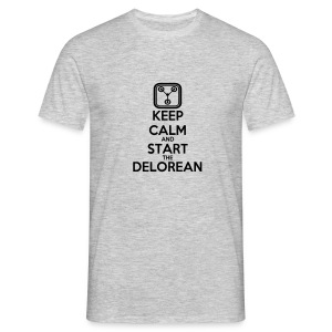 T-Shirt H Start Delorean - T-shirt Homme