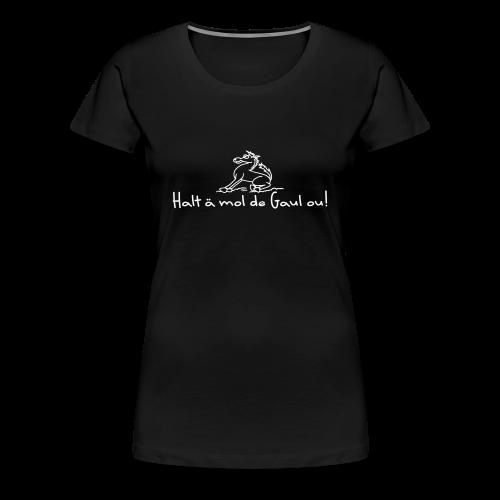 Hohenlohe: Gaul - Frauen Premium T-Shirt