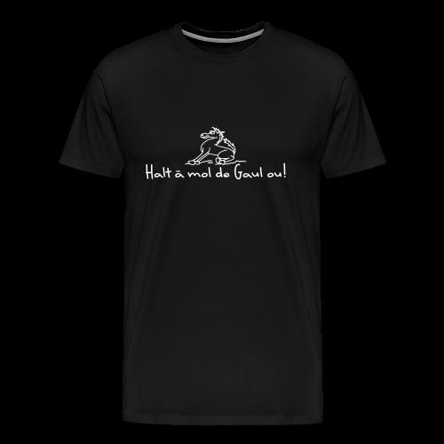 Hohenlohe: Gaul - Männer Premium T-Shirt