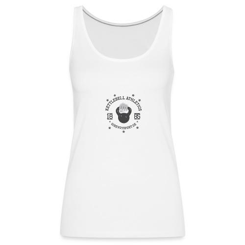 Frauen Shirt Kettlebell Athletics - Frauen Premium Tank Top