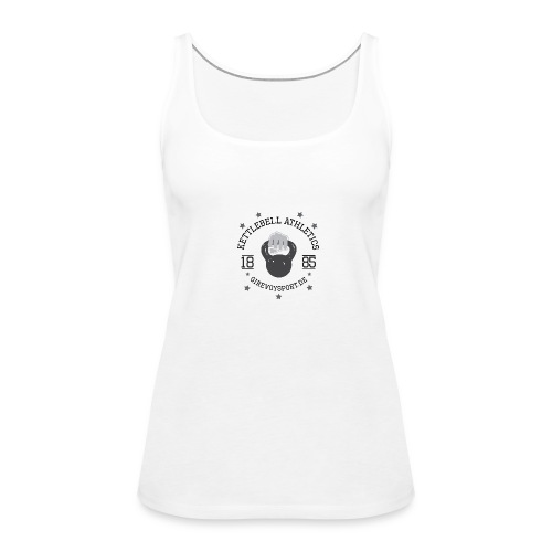 Frauen Shirt Kettlebell Athletics - Frauen Premium Tank Top