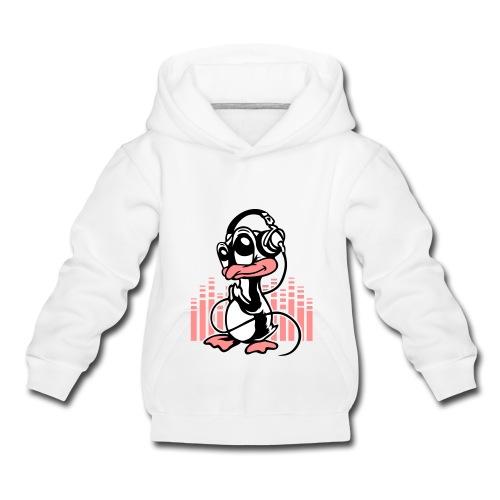 vL7 ReMiiX penguin top  - Kids' Premium Hoodie