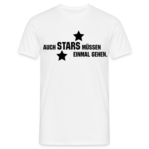 ABI Stars - Männer T-Shirt