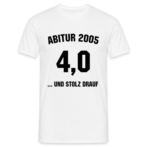 ABI 4,0 - Männer T-Shirt