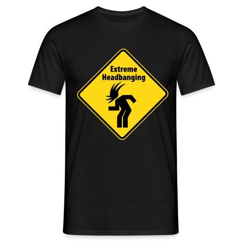 Headbanging - Männer T-Shirt