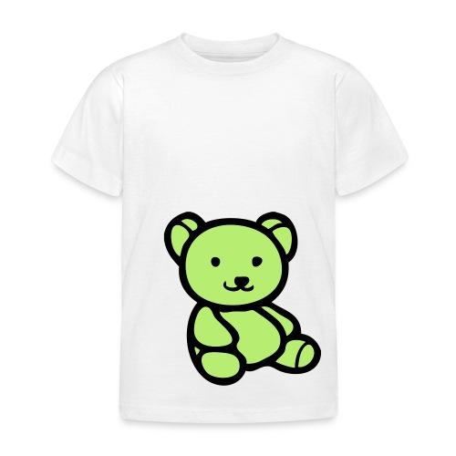 Osito Verde - Camiseta niño