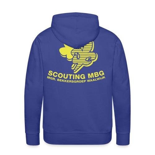 Scouts trui leden (Groot) - Mannen Premium hoodie