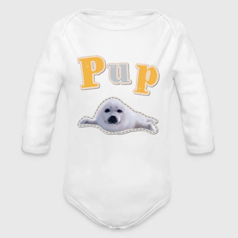 animal planet pup robbe baby body baby body spreadshirt. Black Bedroom Furniture Sets. Home Design Ideas