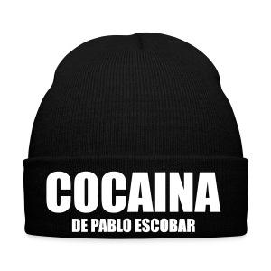 Cocaina De Pablo Escobar Wit Muts - Wintermuts