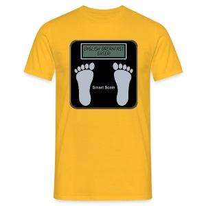 Smart scale t-shirt - English Breakfast - Men's T-Shirt