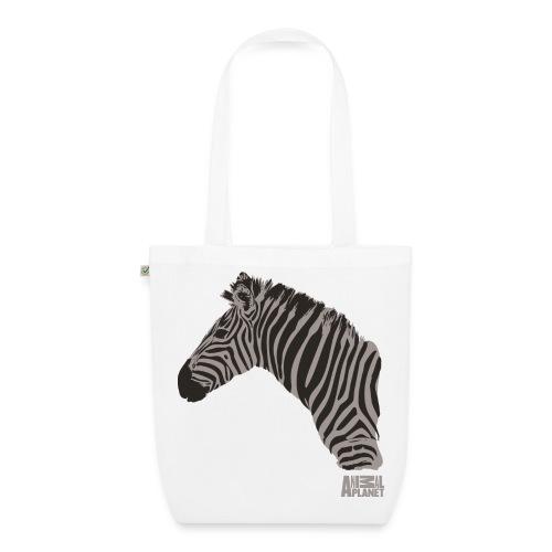 Animal Planet Zebra Tasche beidseitig - Bio-Stoffbeutel