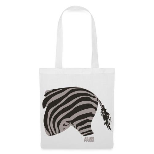 Animal Planet Zebra Tasche beidseitig - Stoffbeutel