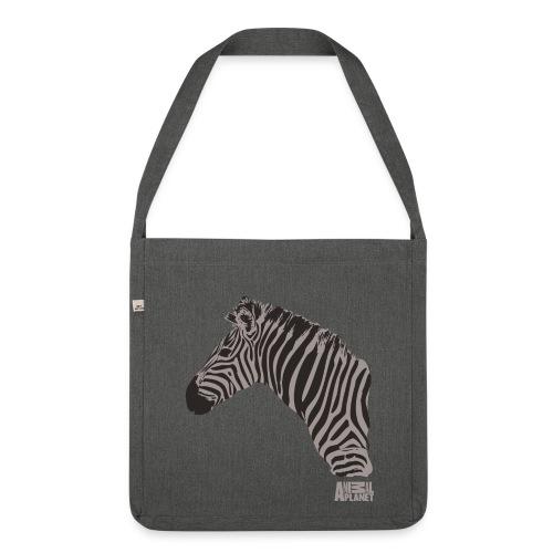 Animal Planet Zebra Tasche beidseitig - Schultertasche aus Recycling-Material