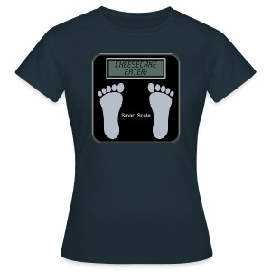 Smart scale t-shirt - Cheesecake - Women's T-Shirt